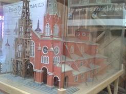 igreja maquete